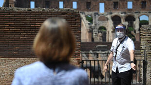 The first European country to be hit hard by the virus, Italy is once again opening up tourist attractions such as the Colosseum.