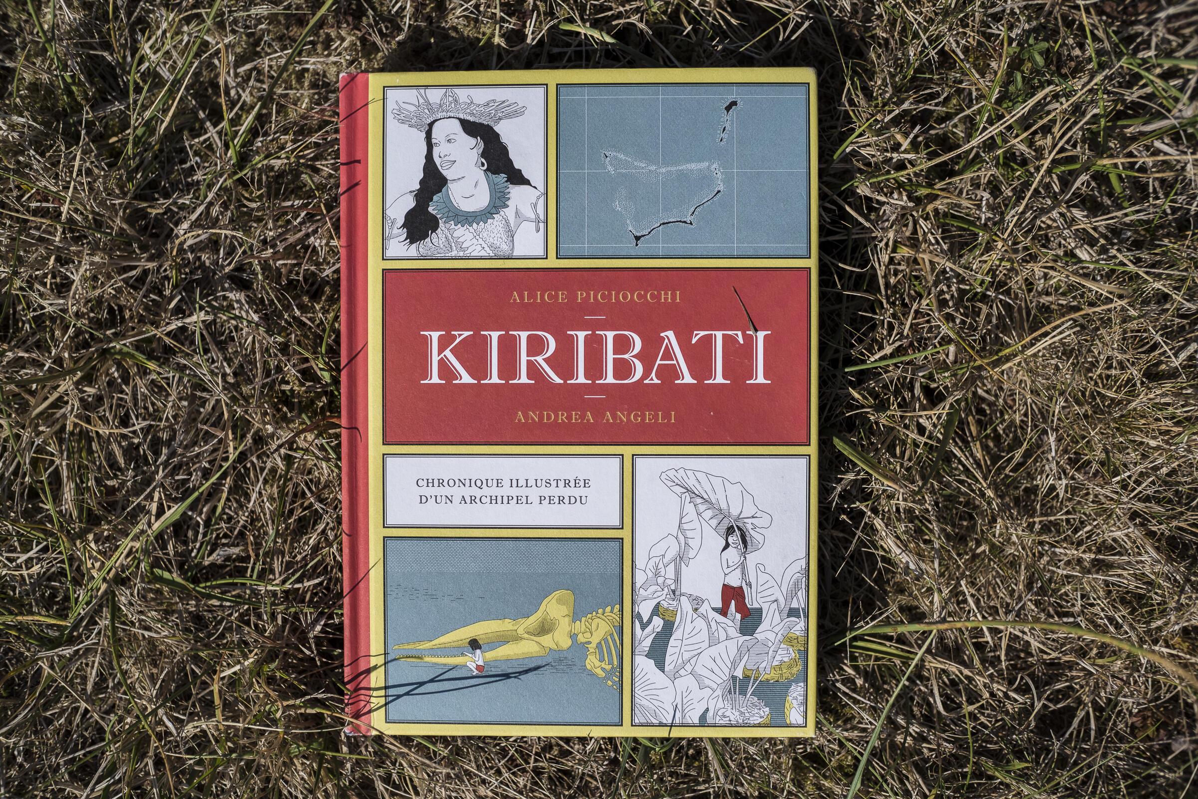 Kiribati, Chronique illustrée d'un archipel perdu, d'Alice Piciocchi et Andrea Angeli.