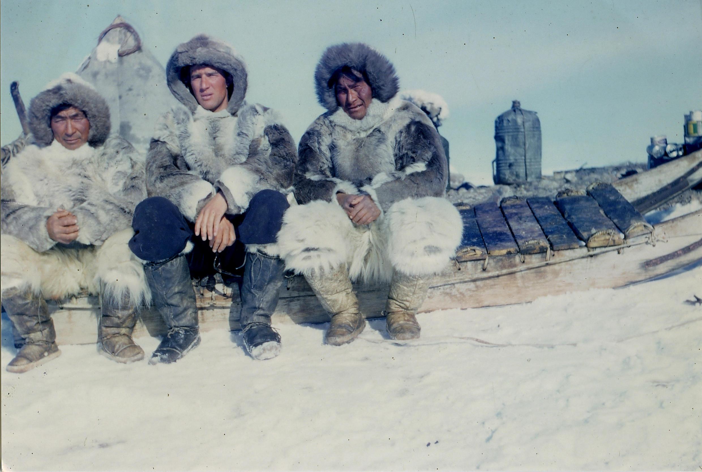 Jean Malaurie et les Inuits de Thulé, Groenland, 1951.