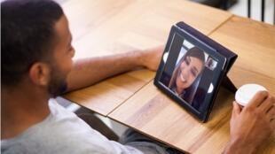 amour virtuel illustration relation à distance