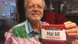O livro Mai 68 est devant nous, escrito por Frédéric Pagès, Jacques Brissaud e Olivier de la Soujeole