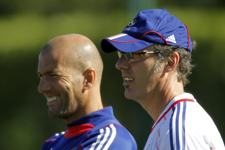 Zinédine Zidane a répondu à l'appel de Laurent Blanc, son ancien coéquipier en bleu.