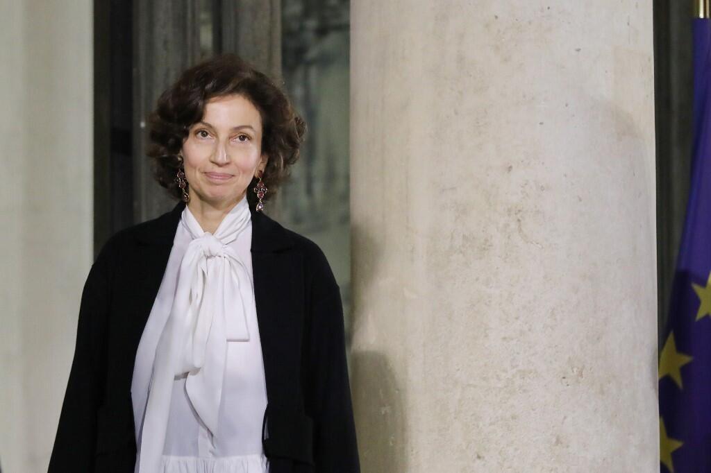 La directrice de l'Unesco, Audre Azoulay.