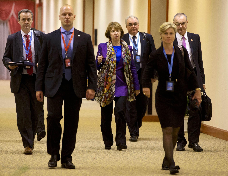 Глава европейской дипломатии Кэтрин Эштон на азиатском саммите по безопасности в Брунее 01/07/2013