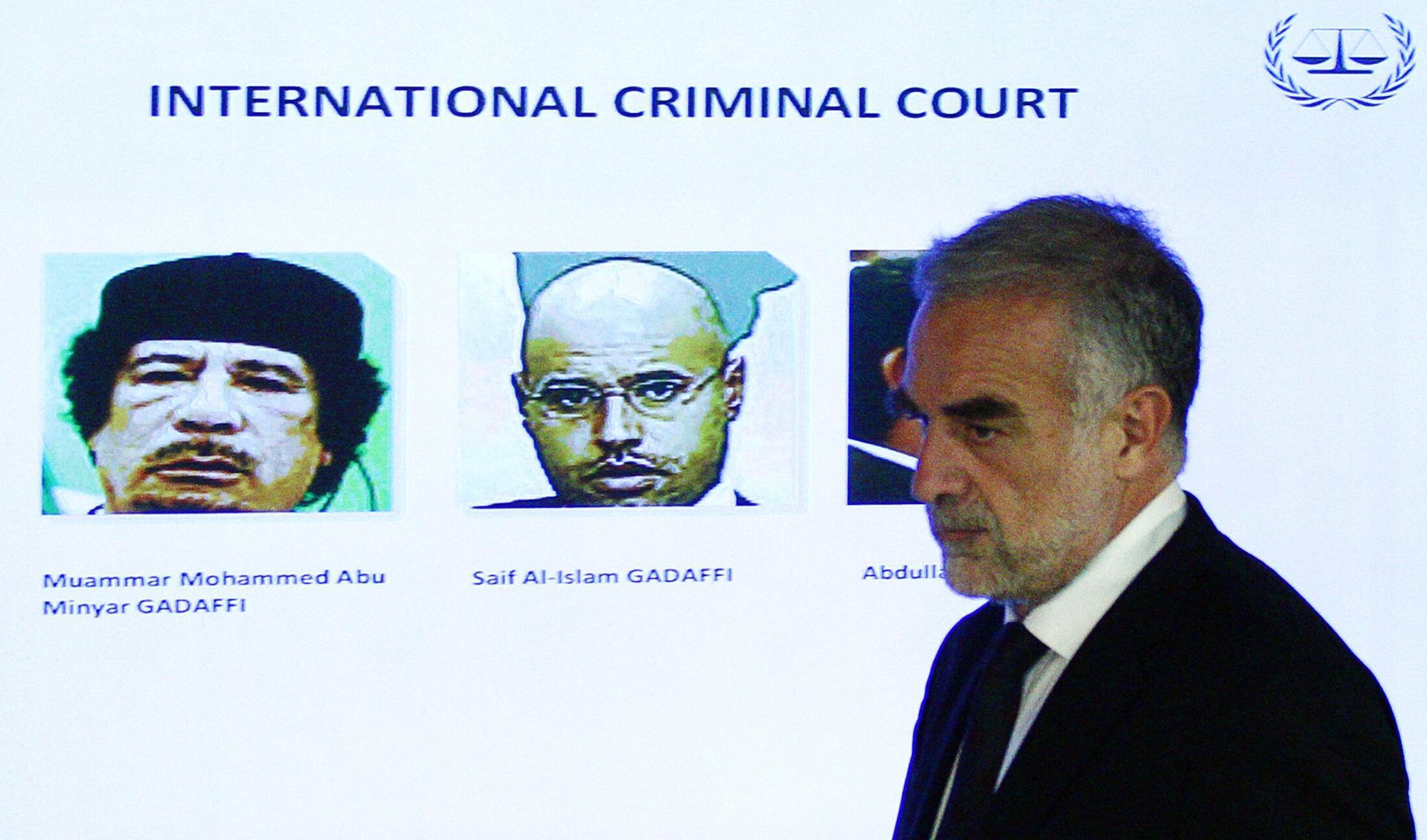Luis Moreno Ocampo, ex procurador de la Corte penal Internacional