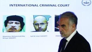 Luiz Moreno Ocampo, procurador-geral do Tribunal Penal Internacional.