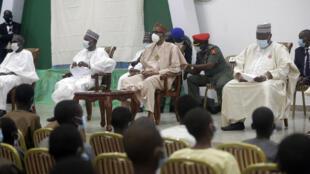 Muhammadu Buhari Lycéens Libérés Nigeria Rencontre