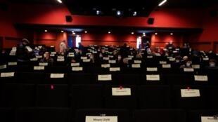 Cinema Covid France