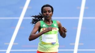 L'Éthiopienne Tirunesh Dibaba.