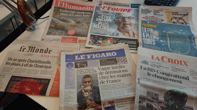 Diários franceses 10.08.2018
