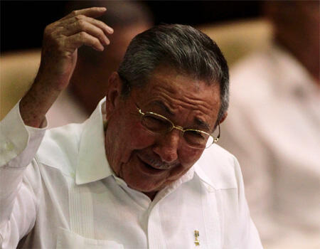 Raul Castro, à La Havane, 16 avril 2011.