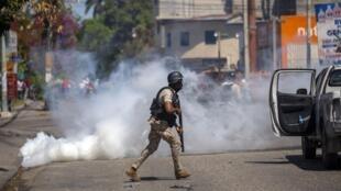 haiti-manifestation-police