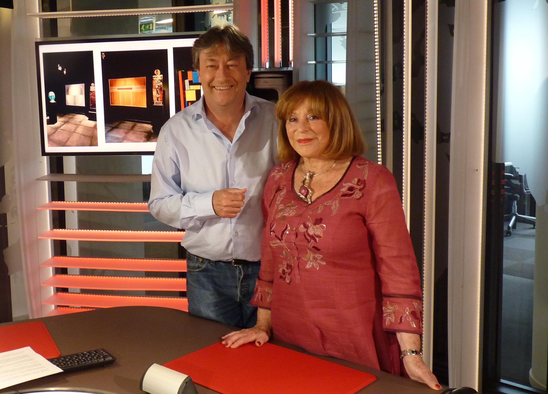 Monique Rozanès y Jordi Batallé en RFI