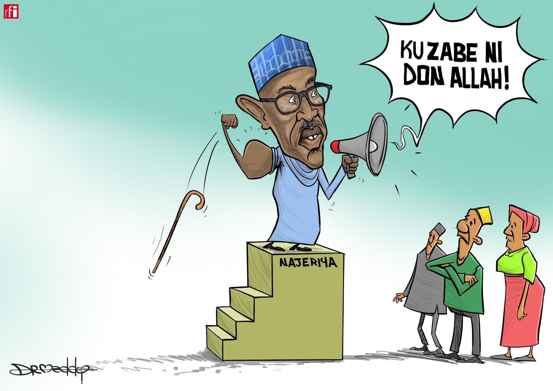 Najeriya: Buhari na neman a zabe shi wa'adi na biyu. (30/11/2018)