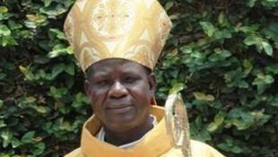 Samuel Kléda, archevêque de Douala au Cameroun.
