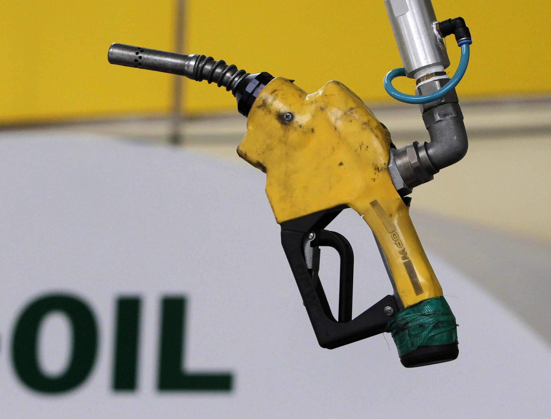 Một trạm xăng dầu ở Seoul.