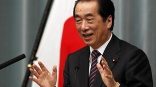 Waziri mkuu wa Japan Naoto Kan, baada ya kupigiwa kura ya kuwa na imani nae, bungeni.
