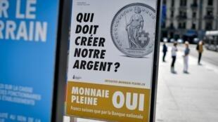 Comme lors d'élections, des campagnes d'affichage pour inciter les citoyens à voter occupent l'espace public.