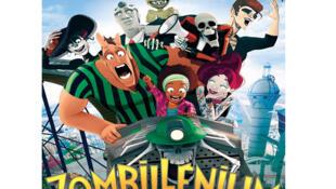 Affiche du film d'animation « Zombillenium ».