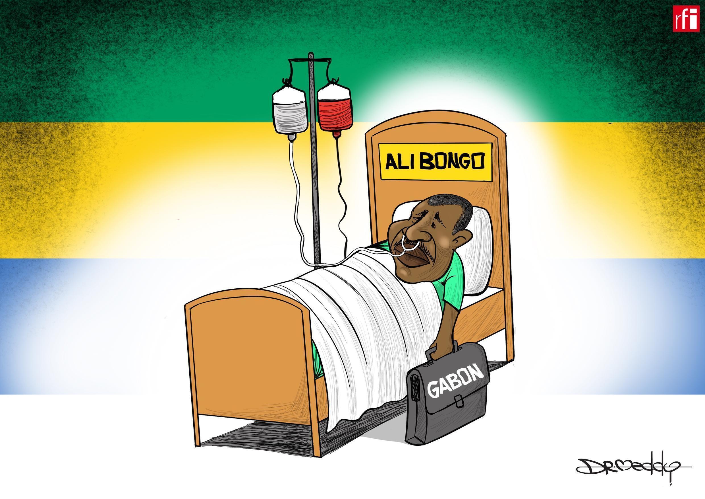 Shugaban Gabon Ali Bongo ya shafe makwanni uku yana jinyar shanyewar barin-jiki a Saudiya (15/11/2018)