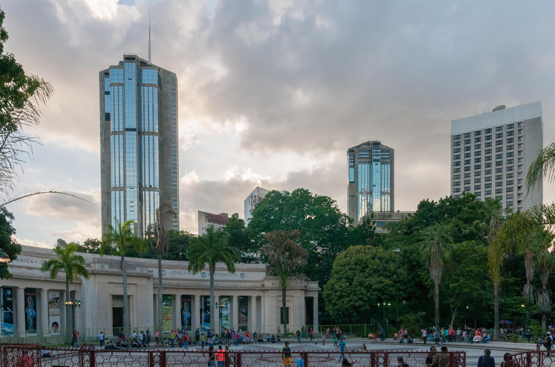 Parque Central desde Bellas Artes