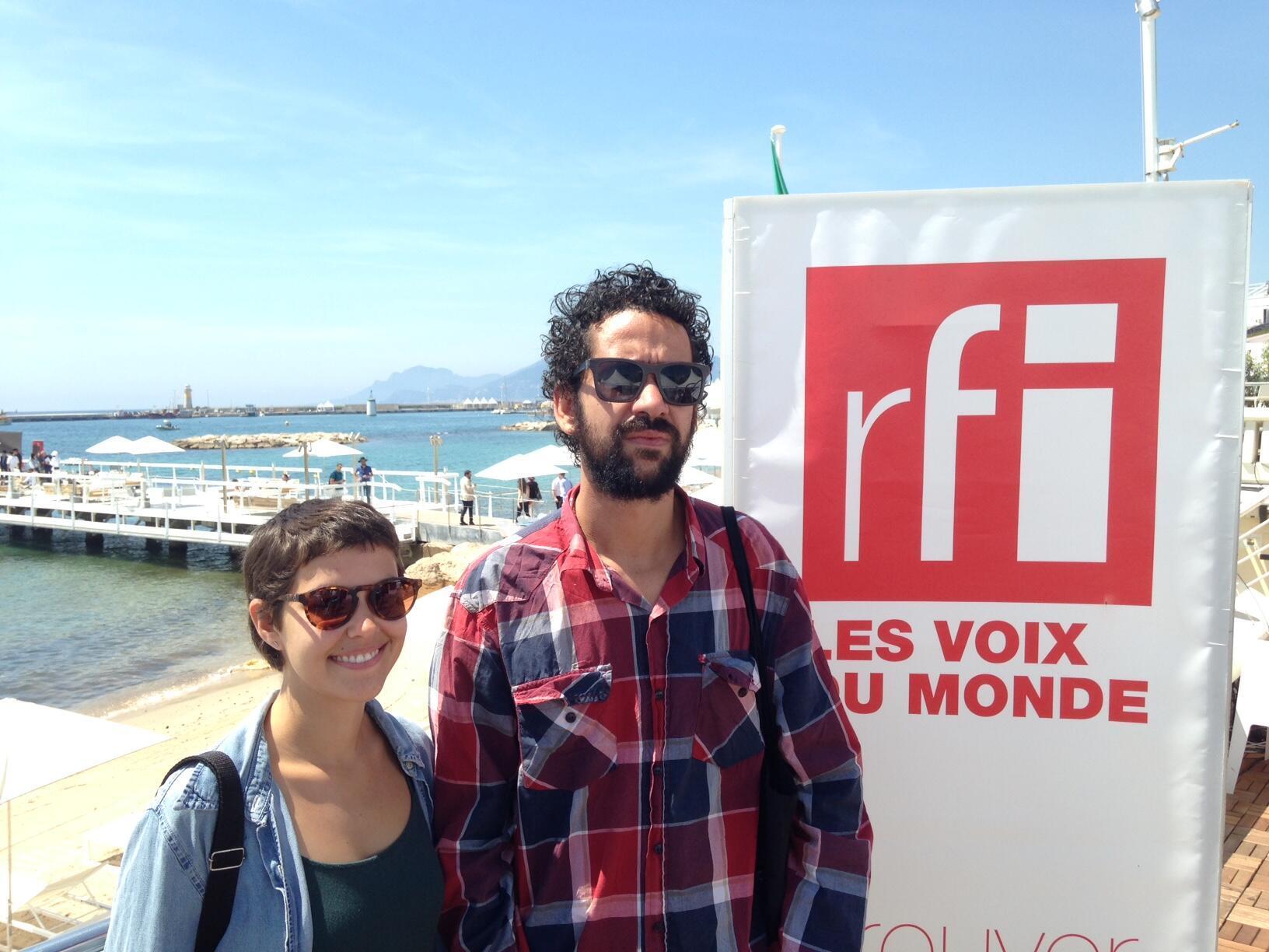 Ana Galizia e Eduardo BP, diretores brasileiros presentes no Cinéfondation do Festival de Cannes.