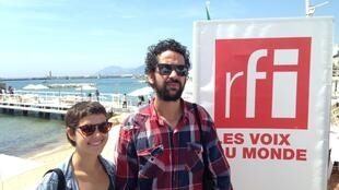Ana Galizia e Eduardo BP, diretores brasileiros presentes no Cinéfondation do Festival de Cannes.