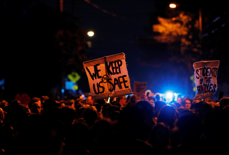 Марш протеста в Шарлотсвилле, 11 августа 2018 г.