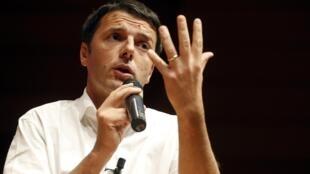 Prefeito de Florença, Matteo Renzi é considerado como grande novidade política na Itália