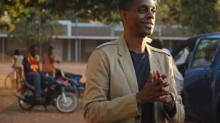 Claudy Siar à Koudougou en décembre 2012.