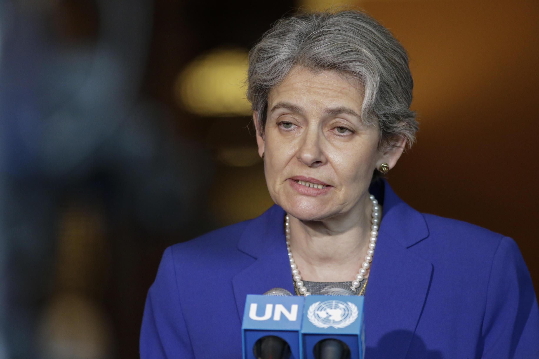 Irina Bokova, directrice générale de l'Unesco depuis 2009.