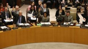 Membros do Conselho de Segurança aprovaram resolução por unanimidade.
