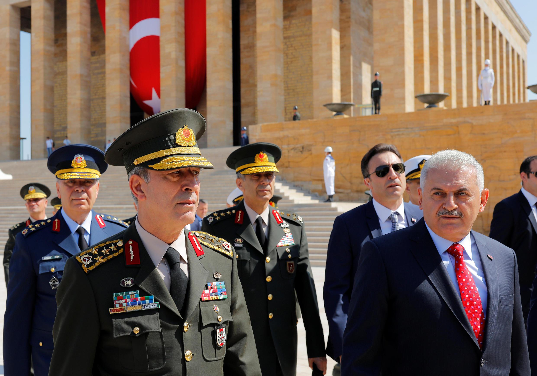 primeiro-ministro turco Binali Yildirim