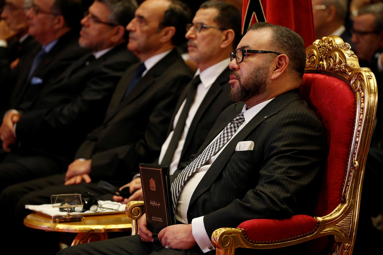 Le roi du Maroc Mohammed VI.