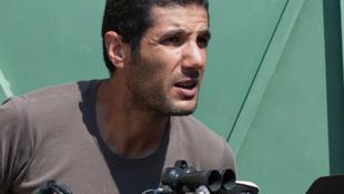 """Nabil Ayouch, réalisateur marocain de """"Les Chevaux de Dieu""""."""