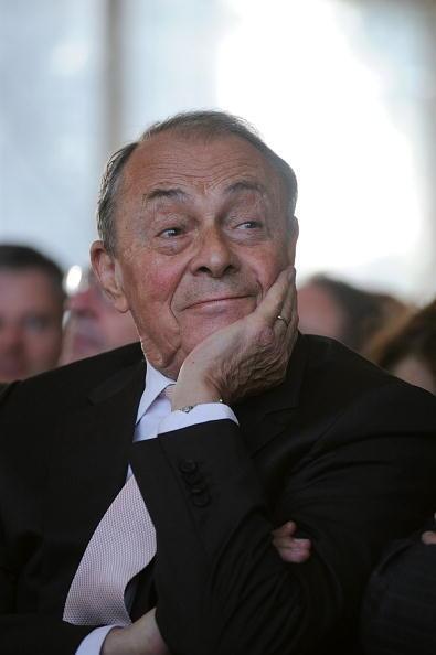 Michel Rocard, lors de la conférence de l'Université d'été du MEDEF, en septembre 2010.