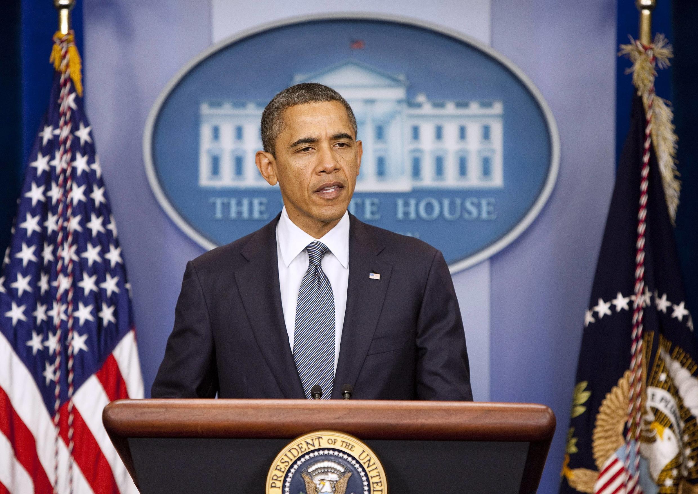Ông Obama tuyên bố rút 39 ngàn lính Mỹ khỏi Irak trước 31/12/2011 (Reuters)