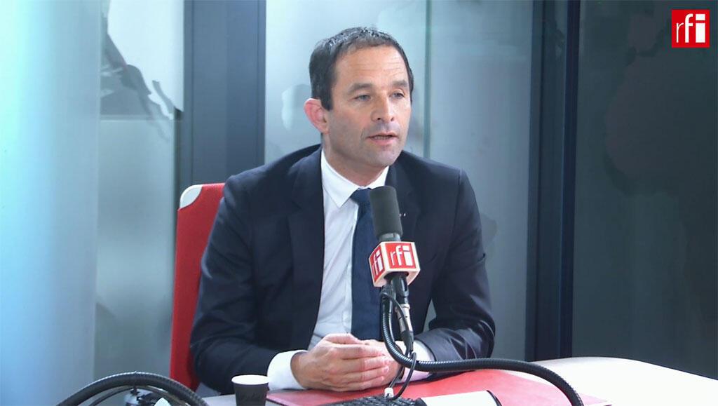 Benoît Hamon, fondateur du mouvement Génération.S sur RFI, le 16 mai 2019.
