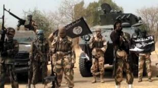 Une vidéo montrant des hommes de Boko Haram.