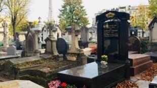 Mộ phần hoàng đế Bảo Đại tại nghĩa trang Passy, quận 16, Paris.
