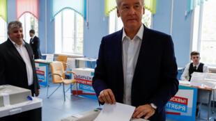 По данным московского избиркома, за действующего мэра Сергея Собянина проголосовало подавляющее большинство избирателей