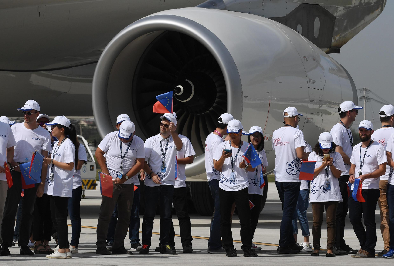 Emprego garantido: construção das peças dos aviões ocupará três mil postos de trabalho durante sete anos.