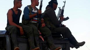 Rebeldes das Farc, às vésperas do congresso que aprovou acordo de paz.