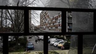 "The ""Chêne-Pointu"" housing estate where the Oscar-nominated film Les Misérables was shot in Paris's eastern suburbs."