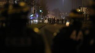 Беспорядки в Бобиньи под Парижем, 11 февраля 2017 г.