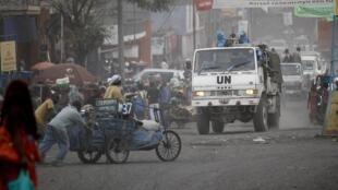 Un convoi de la Monusco a été la cible de jets de pierre dans les rues de Goma, ce vendredi 2 août.
