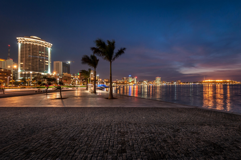 Baixa de Luanda, capital angolana.