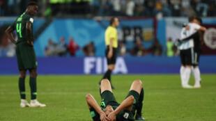 Le Nigeria encore victime de l'Argentine...