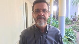 Dom Luís Lisboa, bispo de Pemba, a 1 de Junho de 2018.