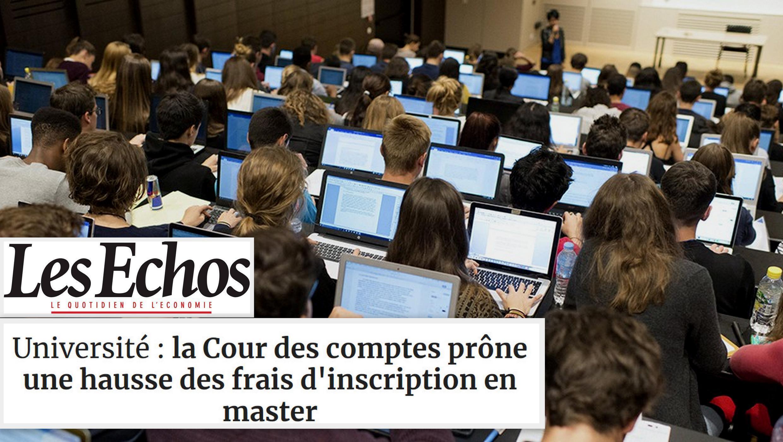 Governo francês descartou aumentar valor das matrículas nas universidades públicas, relata o jornal Les Echos.